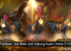 Panduan Tips Main Judi Sabung Ayam Online S128